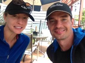 Sydney and Michael (boyfriend) after Pike's Peak run 2014